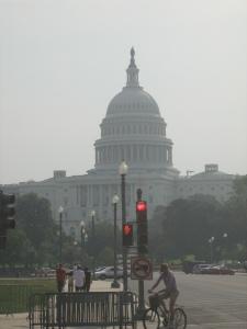 hazy Capitol