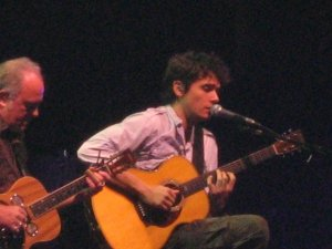 My view of John Mayer in D.C., July 25, 2007