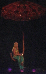 "Britney singing ""Every Time"" -- and I know it's a terrible shot, but I tried!"