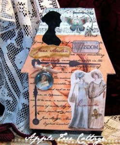 Jane Austen's House by appletreecottage, $16