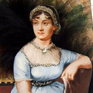 Jane Austen original mixed media collage by LDphotography, $7.99