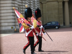 At Buckingham Palace