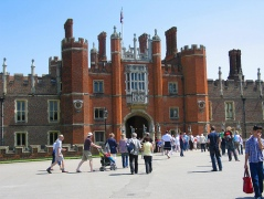 Hampton Court Palace in Surrey