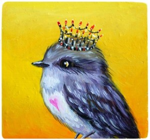 King Bird archival print by TheNightjar, $20
