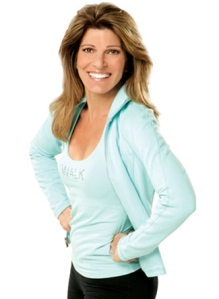 Walking guru Leslie Sansone -- my hero!