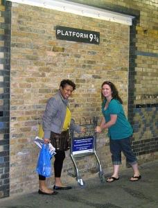 At Platform 9 3/4!