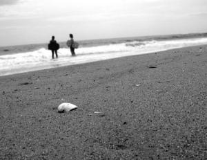 beach_bw
