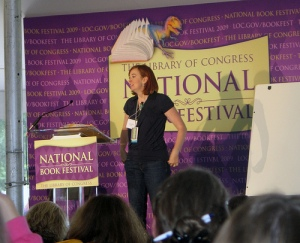 Shannon Hale speaks about her many fine books for middle-grade readers -- and the older crowd, too!