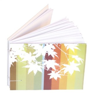 Autumn leaves journal by burgundydistrict, $14
