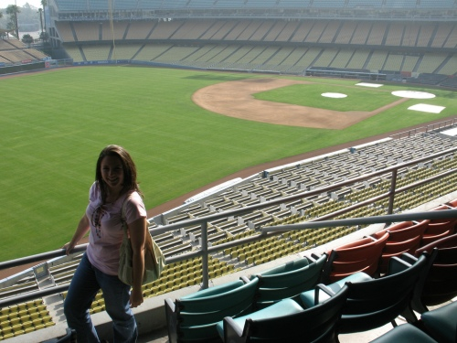 Me in Dodger Stadium