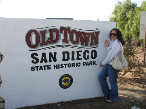 Me in Old Town San Diego