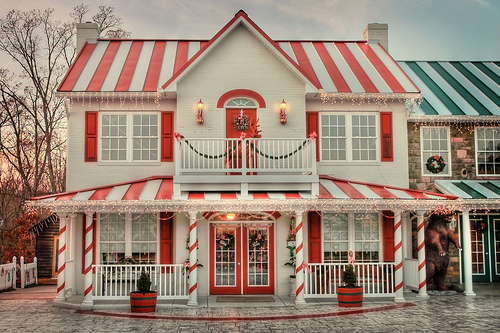 Candy cane shop