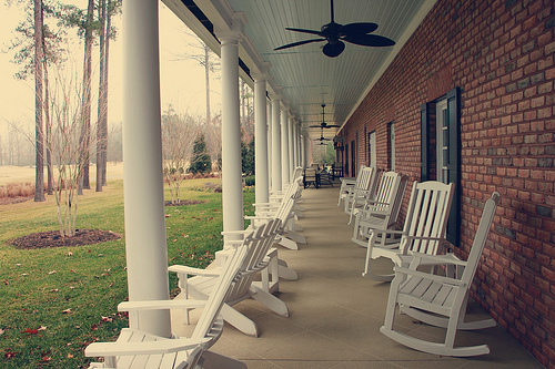 Porch of Swan Point