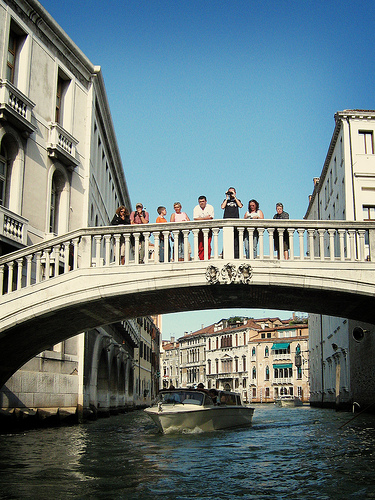Bridge over Venice
