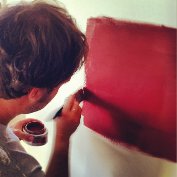 Spencer painting