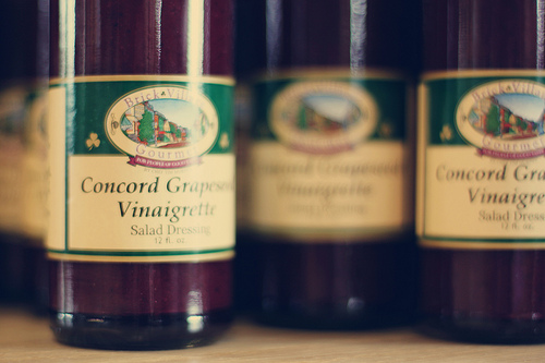 Grape vinaigrette
