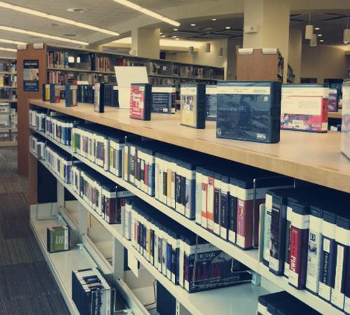 Library audio books