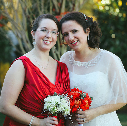 Kate and me - my wedding