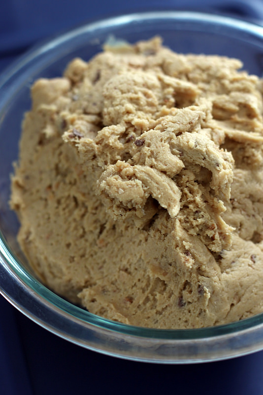 Peanut butter dough