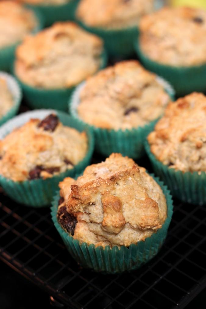 Soda bread muffins 5