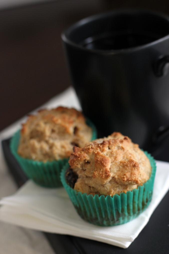Irish soda bread muffins 1