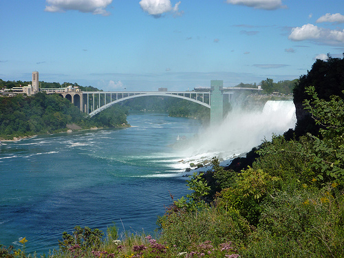American Falls and bridge