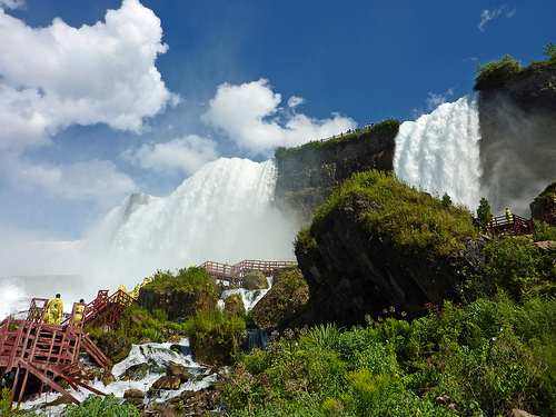 American Falls from below