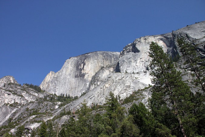 Up at Half Dome