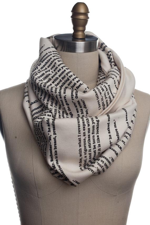 Jane Eyre book scarf