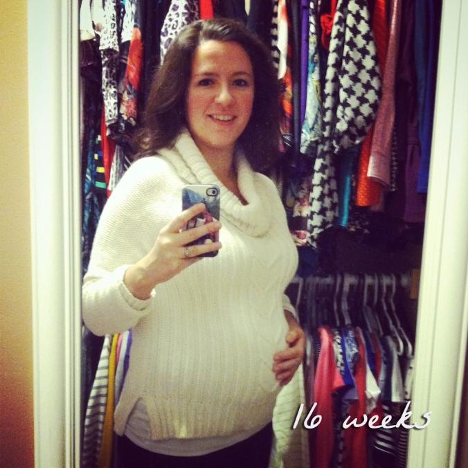 Baby bump - 16 weeks