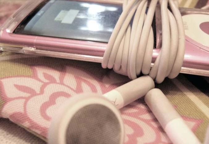 Pink iPod