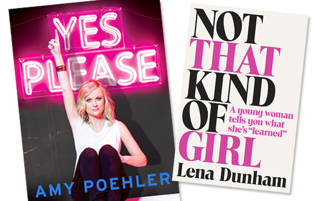 Amy Poehler and Lena Dunham